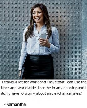 Uber Campaign July 2017 Samantha McNamara