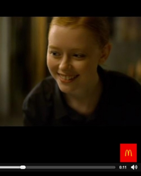 McDonalds TVC Lucy Oct 2015